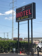 The newly renovated JZ Motel and Suites on 8 mile west of Gratiot in Detroit.
