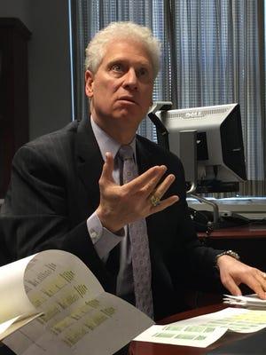 Westchester County Legislator Michael Kaplowitz pictured during his time as chairman of the Board of Legislators.