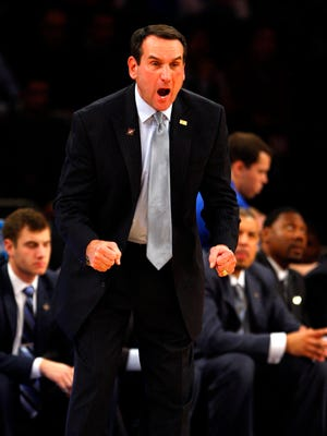 Duke's Mike Krzyzewski is still passionate about the game.