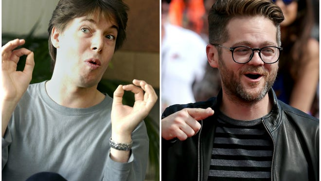 """Joshua Bell (left) and Josh Kaufman are arguably two of Indianapolis' most famous """"Joshs."""""""