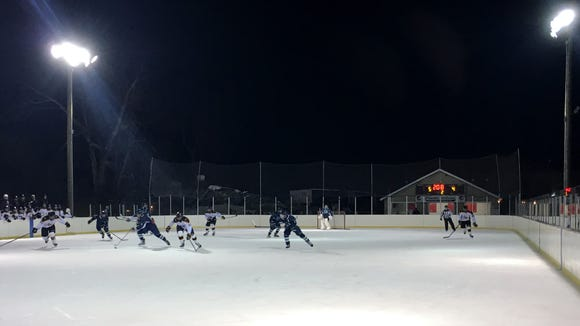 The Pond at Brewster Ice Arena is a seasonal, outdoor rink.