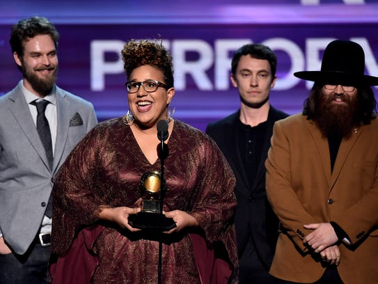 Recording artists Steve Johnson, Brittany Howard, Heath