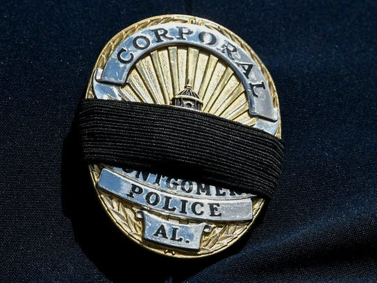 The Montgomery Police Department pays tribute to fallen