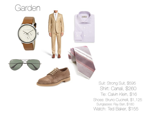 Dress Code: Garden (men)