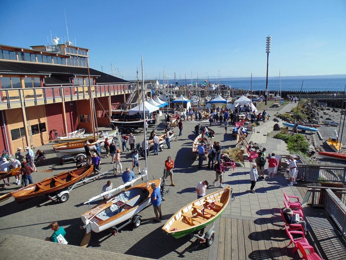 The 2014 Wooden Boat Festival in Port Townsend, WA.