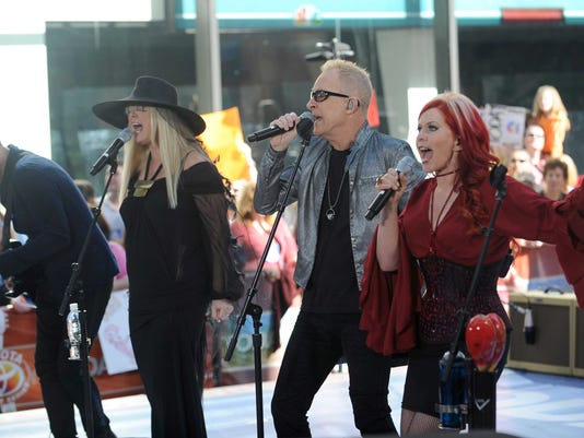 "The B-52's Perform On NBC's ""Today"" Show"