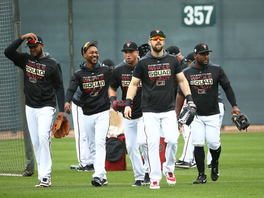 Arizona Diamondbacks Steven Souza Jr. and the other
