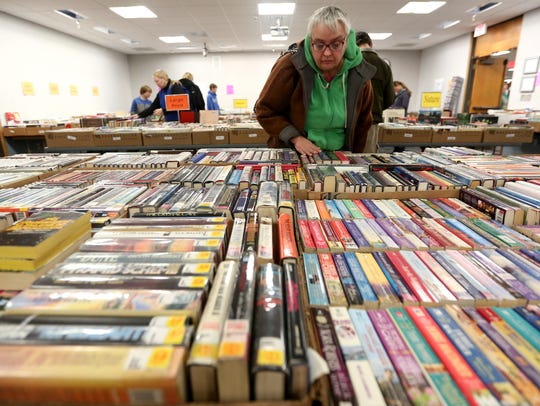 Stock up on books at the Friends of the Salem Public Library Fall Book Sale.