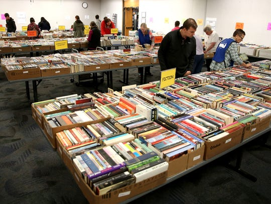 Friends of the Salem Public Library is holding its spring book sale April 5-7.