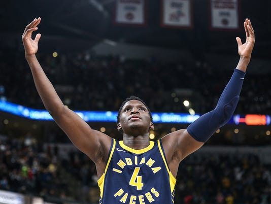 Indiana Pacers photos of the year 2017-18 season