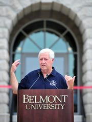 """""""This is especially right for Nashville,"""" Belmont PresidentBob Fisher said of the university's plans to add an architecture bachelor's degree program."""