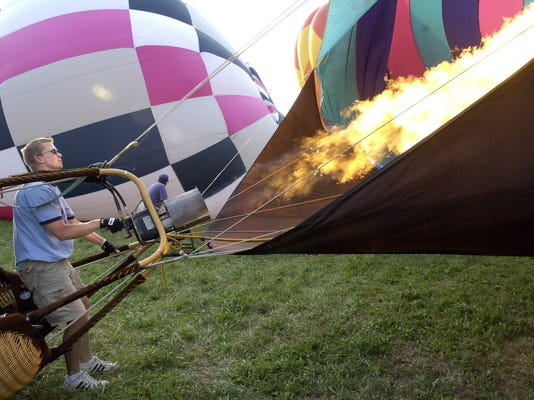 Jeremy Rubin Inflates His Balloon at National Balloon Classic