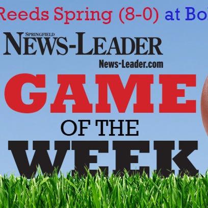 News-Leader Game of the Week: Reeds Spring (8-0) at Bolivar (7-1)