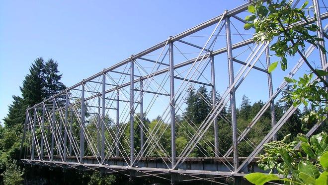 The Hayden Bridge in Springfield is one of Oregon's oldest bridges.