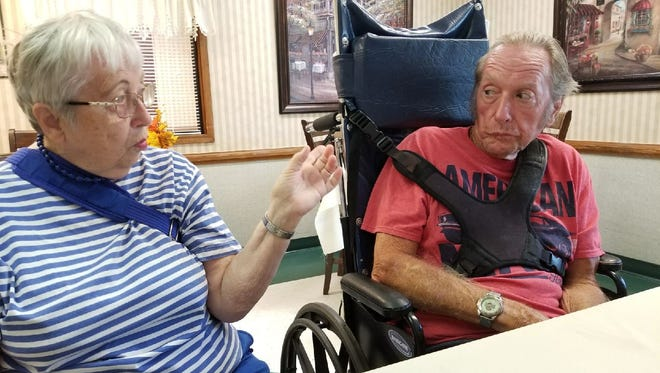 Gene Lentz, and his sister Rhonda Keppler talk about a sprint car crash that left him with brain damage 54 years ago.