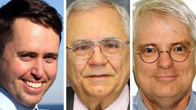 James Davies, County Supervisor David L. Sartori and Steven Shea. Candidates for Milwaukee County Board Supervisor District 8.