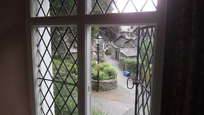 Stroll through poet William Wordsworth's Dove Cottage, now a Grasmere museum.