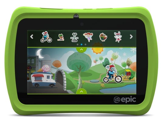Designed for kids age 3 to 9, the LeapFrog Epic ($139.99) is a 7-inch Android-based tablet with a number of exclusive features.