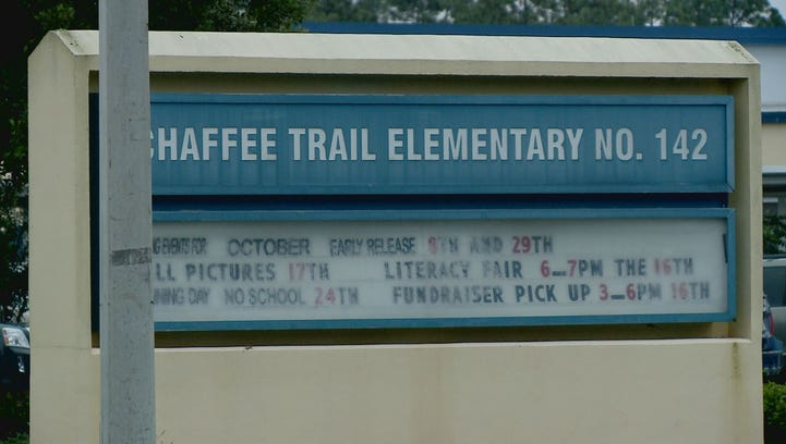 An investigation is underway after a student brought a gun to Chaffee Trail Elementary.