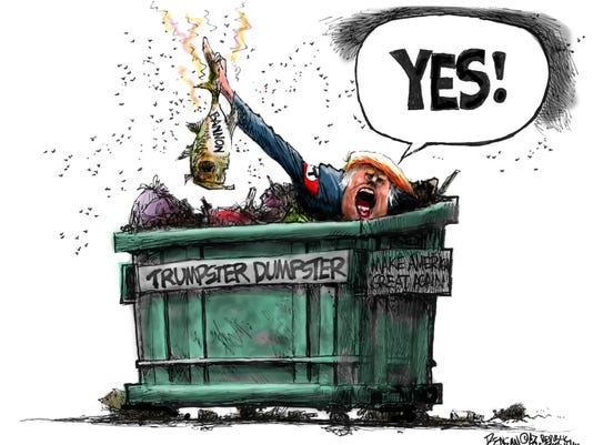 Look what Trumpster found in his Dumpster