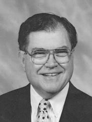 Dr. Ray Nicholson, who died July 14, 2017. He was 87.