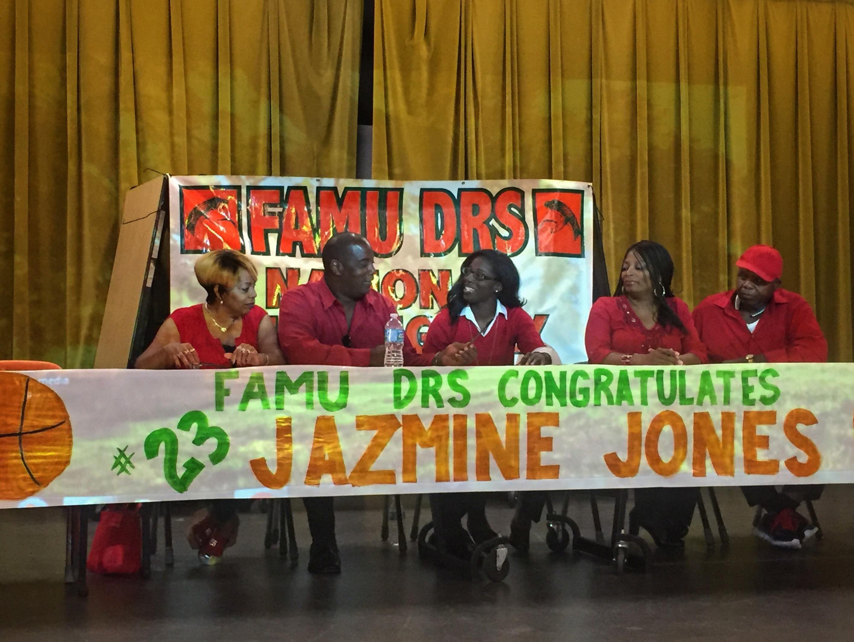 FAMU DRS small forward Jazmine Jones, the reigning All-Big Bend Player of the Year, last week signed a letter of intent to play basketball for Louisville. Jones and the Rattlers will be out for a fourth state title in five years this season.
