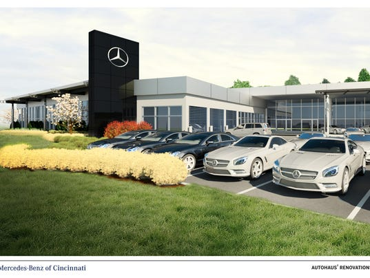 Mercedes benz presents new plans for kenwood dealership for Mercedes benz montgomery road