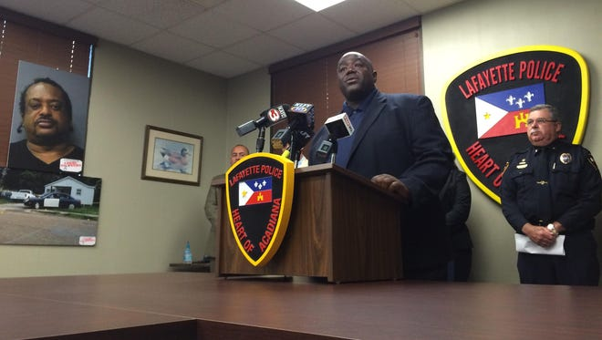 Lafayette City-Parish Council Chairman Kenneth Boudreaux joined with the Lafayette Police Department to urge the public to come forward with any information in two homicides that occurred in May.