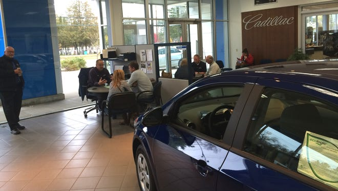 Len Dudas Motors has been chosen as the best car dealer in Portage County for the third time.