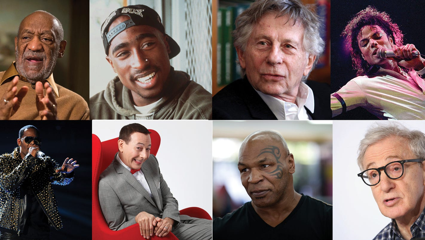 Beyond Cosby, how celebrities accused of sexual misconduct ...