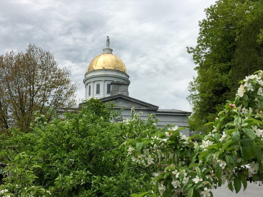The Vermont Statehouse is pictured on Wednesday, May 24, 2017.