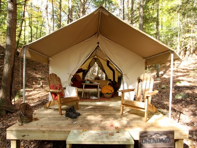 Glamping Or How To Camp Without Roughing It