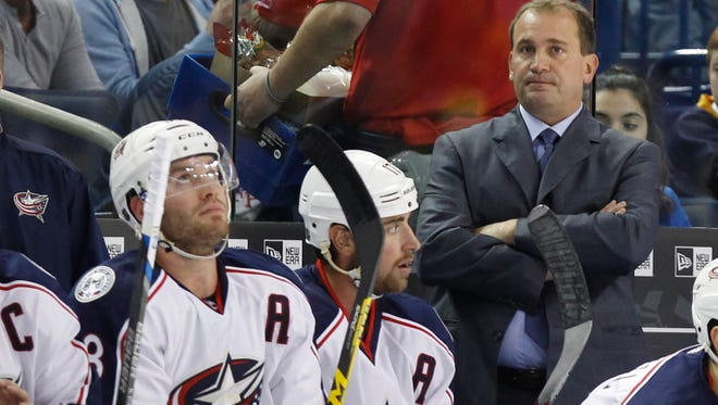 The Columbus Blue Jackets have given up 20 goals in their four losses.