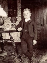 Kenneth Robert Watson as a young boy in White Oaks, NM.