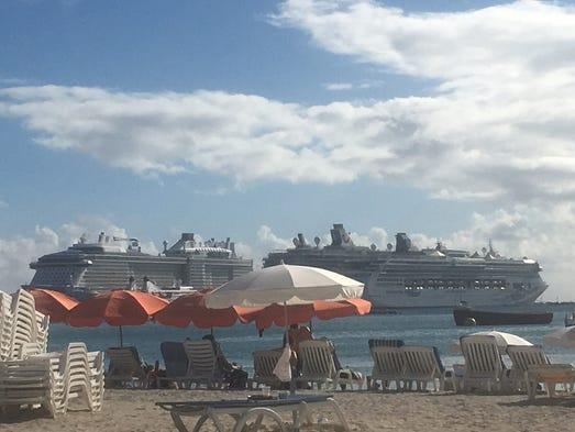 Cab From Cruise Port To Maho Beach St Martin