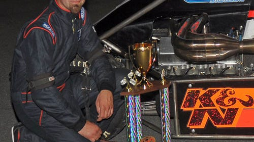 Kingston's Randy Cabral (Credit: NEMA Midget photo.)