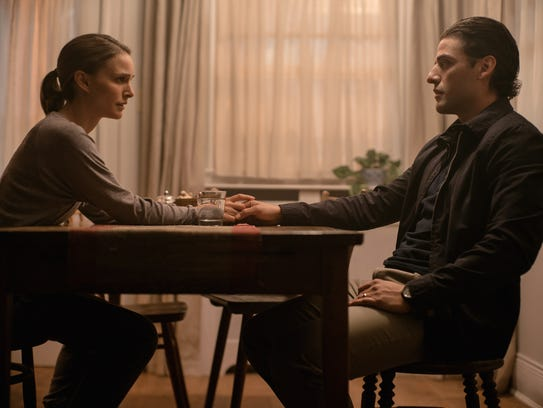 "Natalie Portman and Oscar Isaac star in ""Annihilation."""