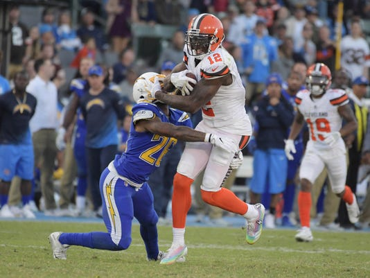 USP NFL: CLEVELAND BROWNS AT LOS ANGELES CHARGERS S FBN LAC CLE USA CA