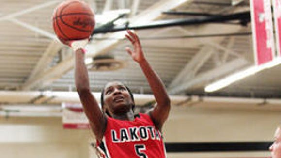 Lakota West point guard Nia Staples was an Enquirer Division I all-area selection last season.