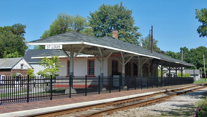 This former C&O Railroad Depot is now the St. Louis, Mich., Historical Museum.