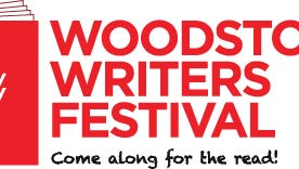 The logo for the Woodstock Writers Festival.