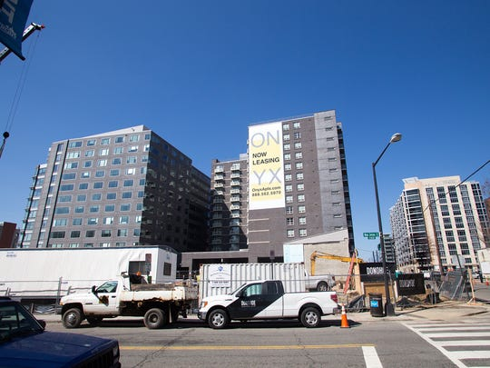 Leasing opportunities at nearby condos are also popping up near the stadium.
