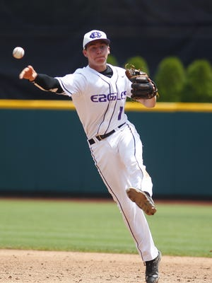 Daniel Vezdos came through on the mound Thursday for CHCA, improving to 4-0 this season in the Eagles' 4-0 win over CCD.