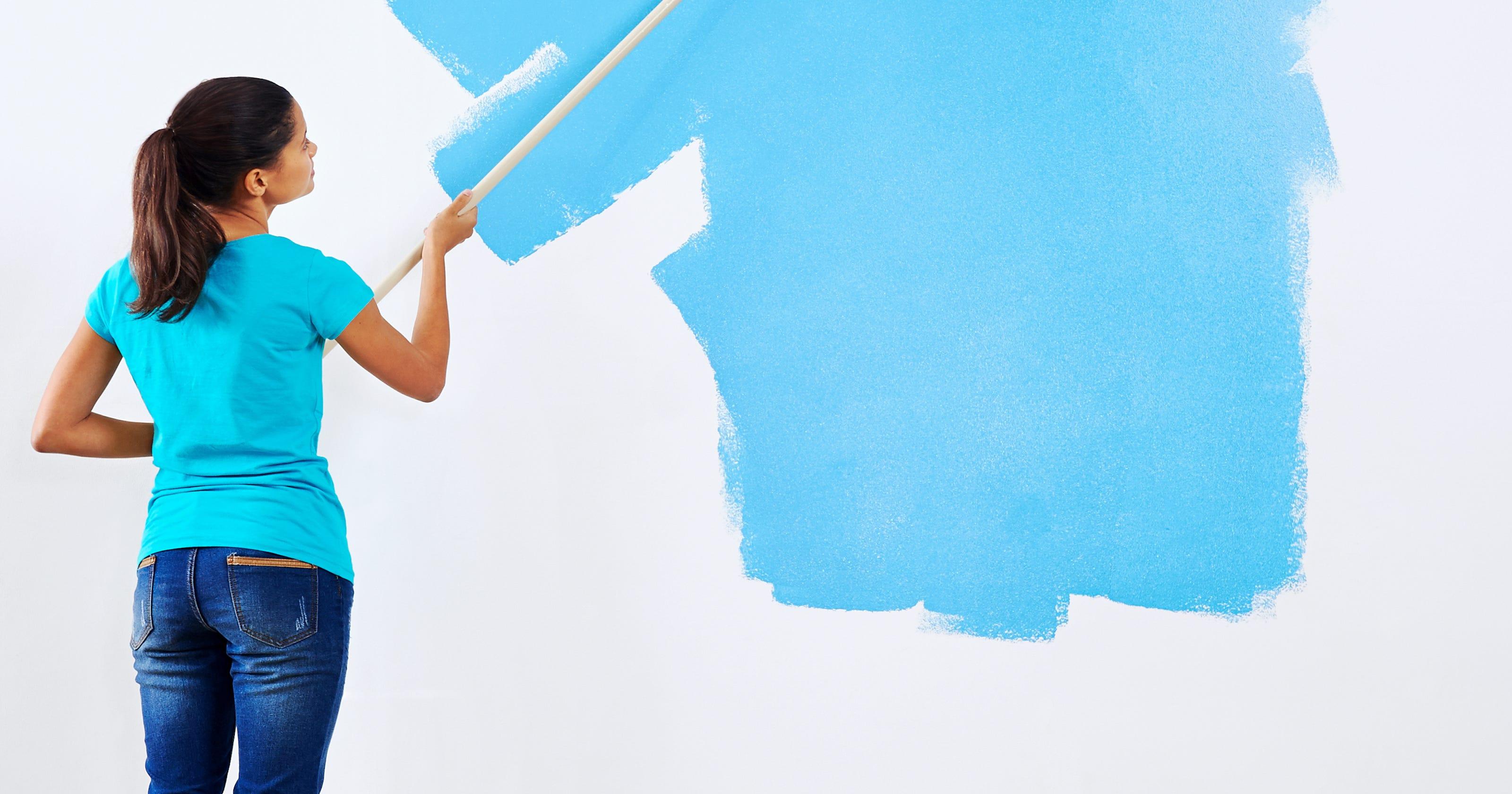 low voc and bacteria killing paint makes a home healthier
