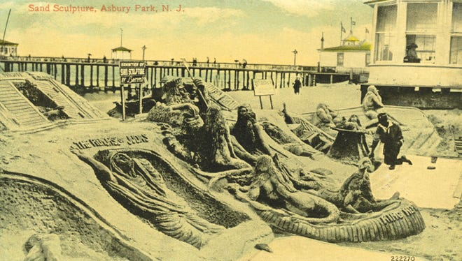 Admiring tourists rallied behind the work of Lorenzo Harris, and he became a cherished part of Asbury Park's beach life for almost 30 years.