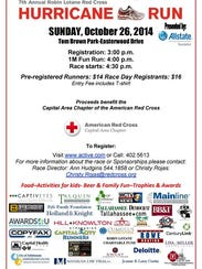 Red Cross Race info