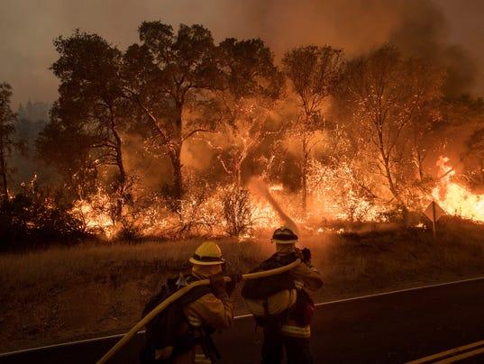 AP WESTERN WILDFIRES CALIFORNIA A USA CA