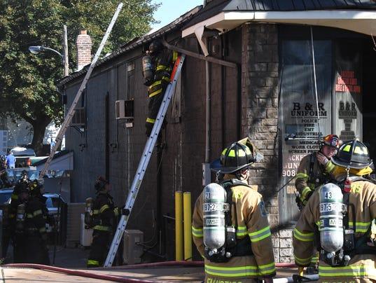 Hackettstown business fire