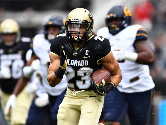 NCAA Football: California at Colorado