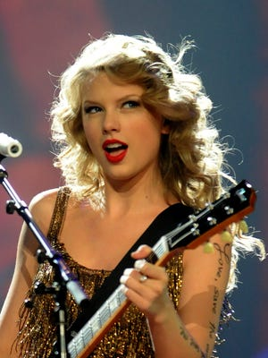 Taylor Swift performs at CenturyLink Center in 2011. Swift will return to Bossier City to kick off her 1989 tour May 20.